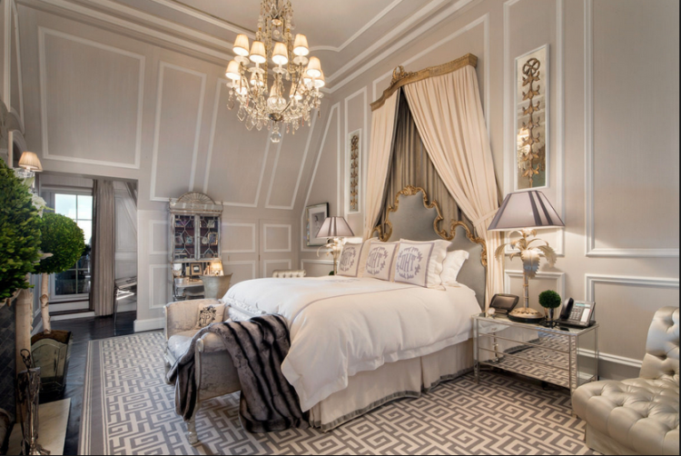 Luxury Lampshades    Illume NYC    Tommy Hilfiger's Penthouse at the Plaza Hotel NYC