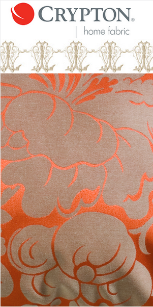 Crypton's Melrose Fabric || Collage created by Leslie Carothers for https://hadleycourt.com