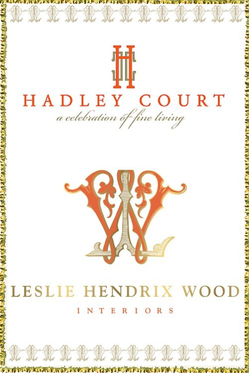 Collage created by Leslie Carothers for Hadley Court || http://lesliehendrixwoodinteriors.com