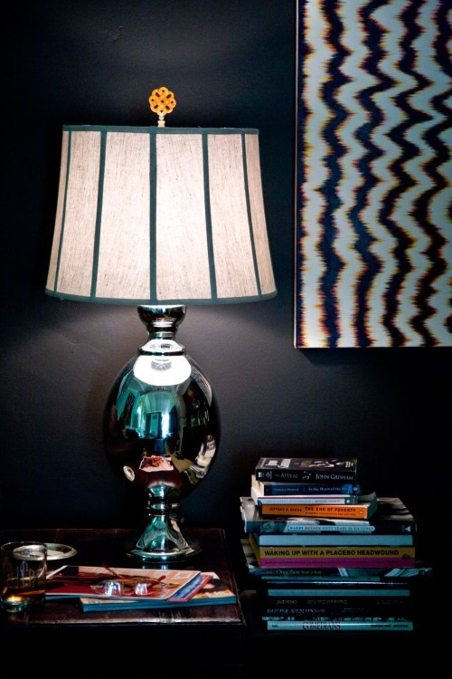 Lamp Shade Finial Design Scene: Hillary Thomas