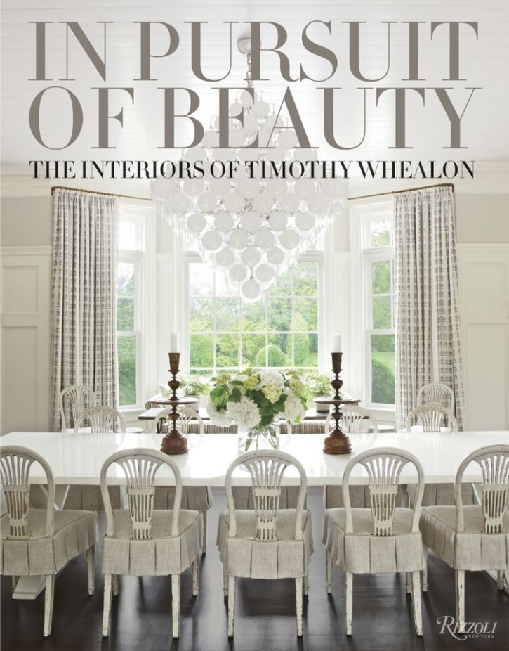 "Book cover: Timothy Whealon's ""In Pursuit of Beauty"", published by Rizzoli"