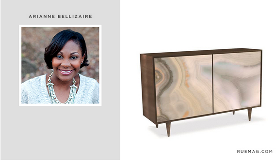 hadleycourt.com || Fall 2015 #HPMKT StyleSpotter Arianne Bellizaire || Console by Caracole || www.ruemag.com
