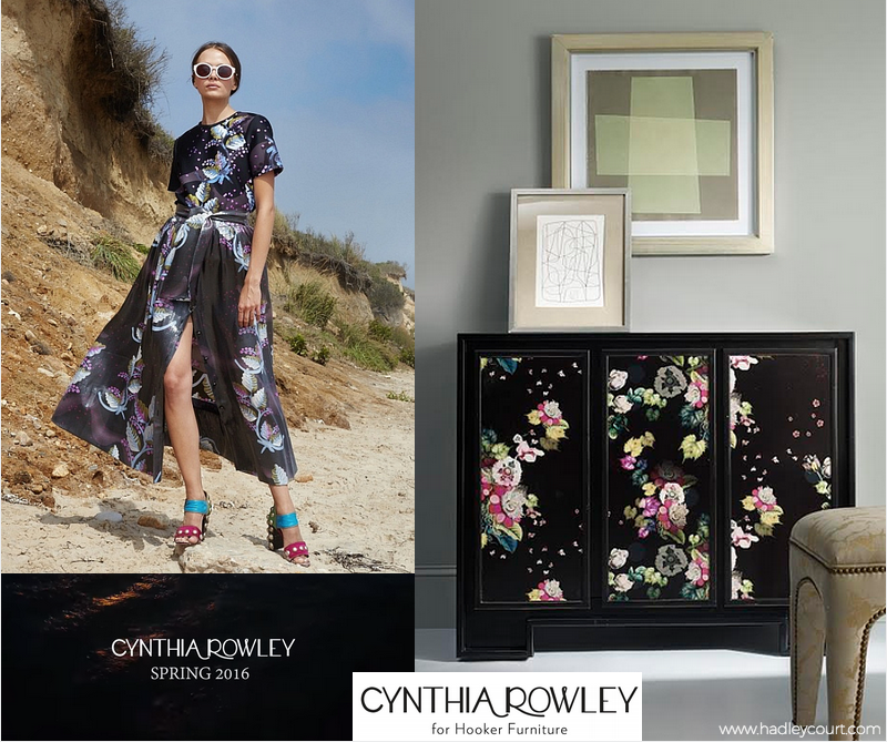Cynthia Rowley For Hooker Furniture Spring 2016 Collection - Florals