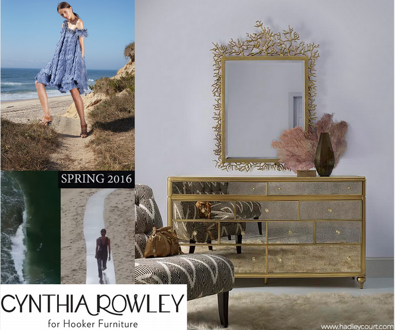Cynthia Rowley For Hooker Furniture Spring 2016 Collection photos