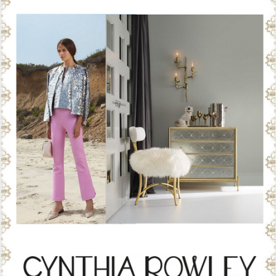 #HPMKT Sneak Peek! Fashion Designer Cynthia Rowley For Hooker Furniture!