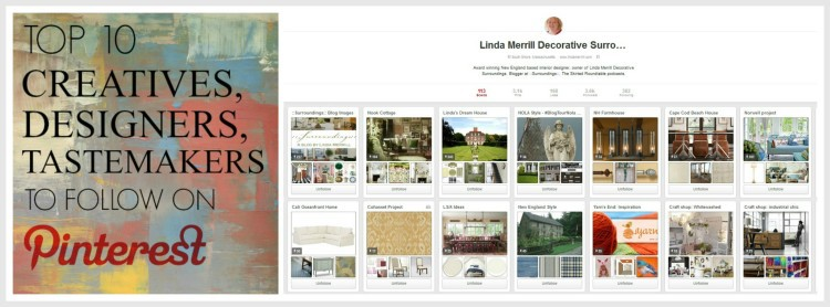 Top 10 Pinners To Follow - by Lynda Quintero-Davids for Hadley Court - follow Linda Merrill ii