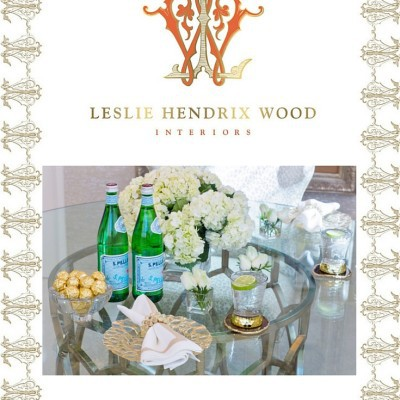 A Look Inside the Office of Leslie Hendrix Wood Interiors!