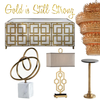 Gold is Still on Trend for Fall #HPMKT