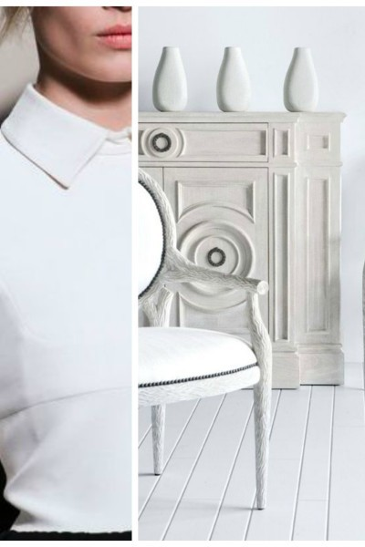 Luxury Interiors: The Classic White Shirt Paired With Shades Of White