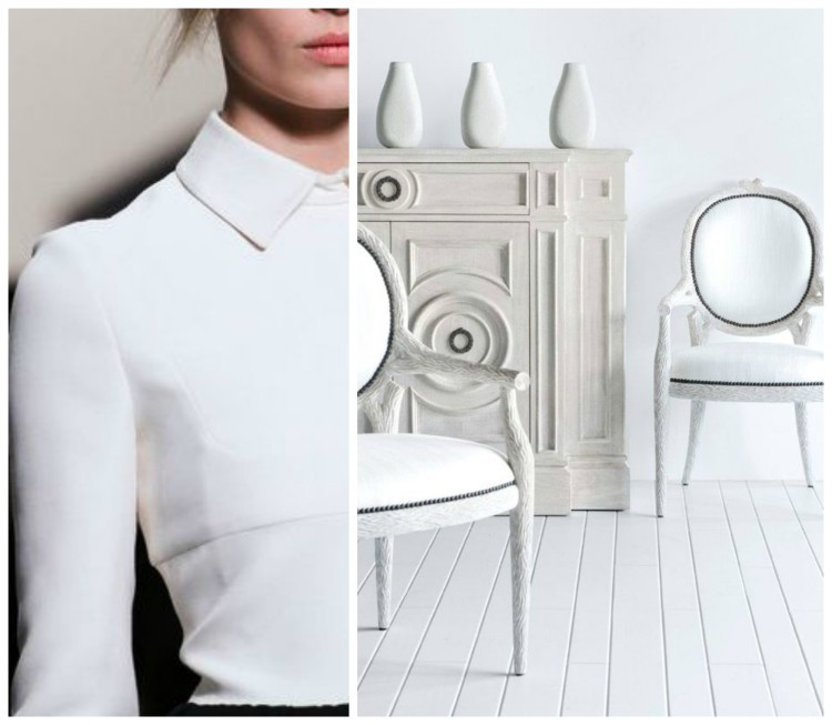 Simply White Fashion & Decor design duet for Hadley Court by Lynda Quintero-Davids - CRISP and TAILORED
