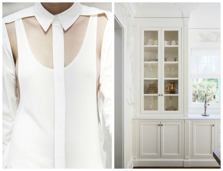 Simply White Fashion & Decor design duet for Hadley Court by Lynda Quintero-Davids - tailored and sheer