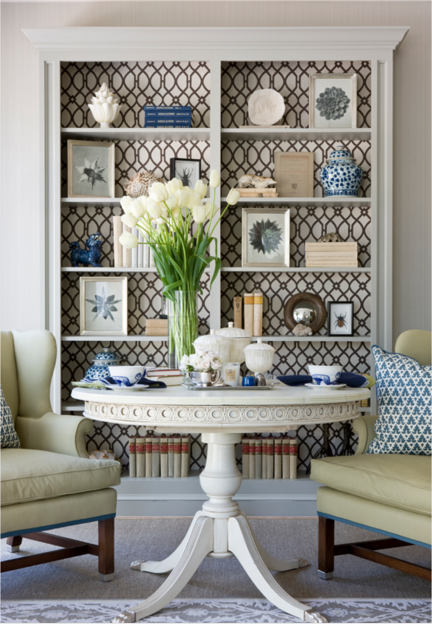 Interior designer: Marika Meyers -Washington, DC show house.