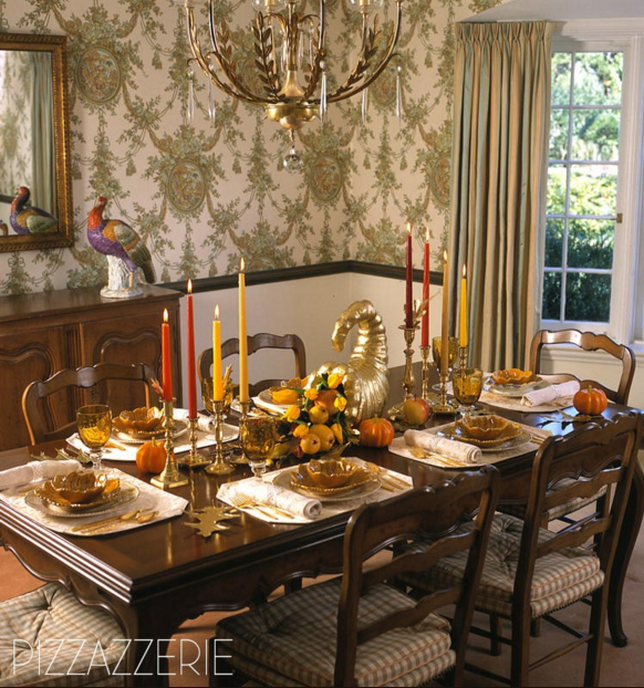 Tablescape design: Brentwood, TN based Phronsie Dial, a contributor to Pizazzerie, her daughter Courtney's blog.