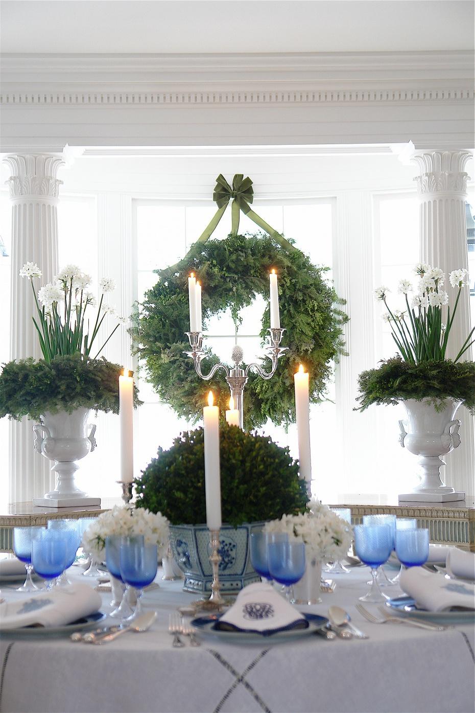 Carolyne Roehm Christmas wreath || www.carolyneroehm.com