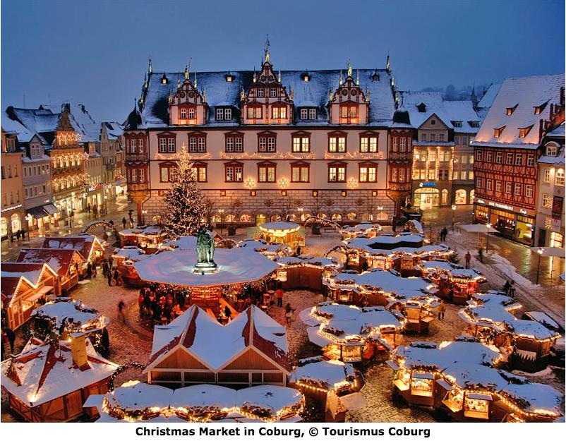 Image Credit: www.coburg-tourist.de || Coburg Germany Christmas Market