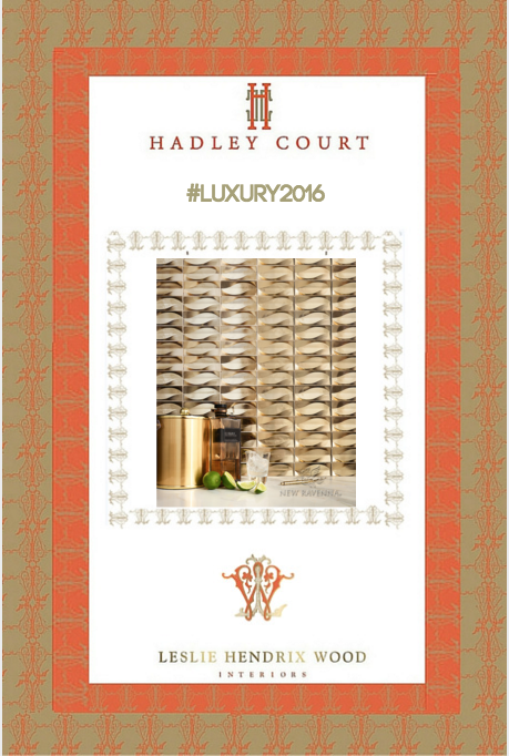 Collage created by Leslie Carothers for www.hadleycourt.com || New Ravenna Tile
