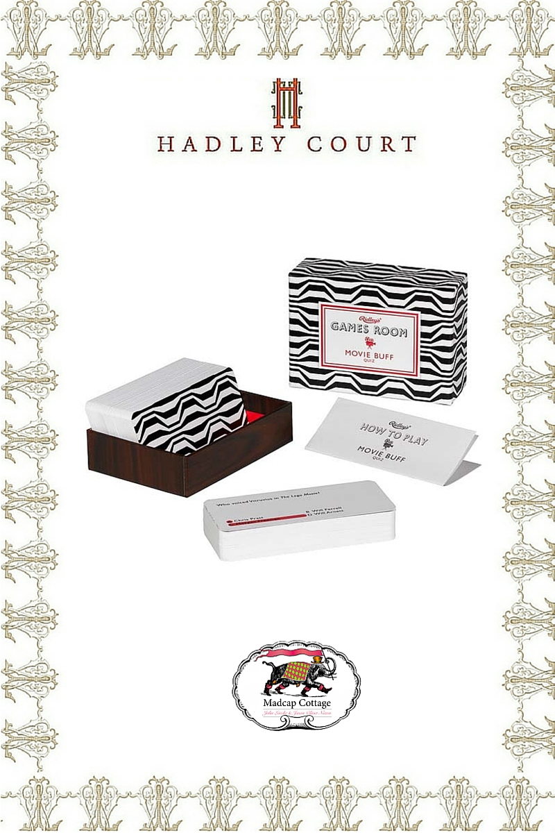 Madcap Cottage *Movie Buff Quiz* Boxed Game - A Hadley Court #Holiday2015 *Top 10* Gift Selection