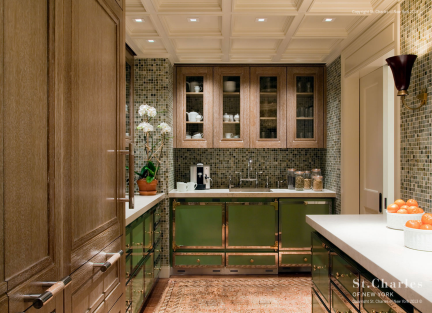 Cerused Oak Cabinetry - Modern Oak Cabinets - Hadley Court