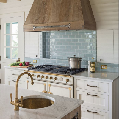 Kitchen Inspiration: Cerused Oak Cabinetry!