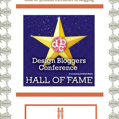 Meet The Winners of the 2016 Design Bloggers Hall of Fame Awards!
