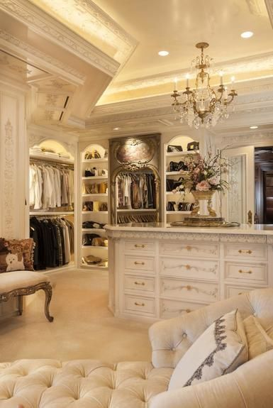 Beautiful closet lighting idea