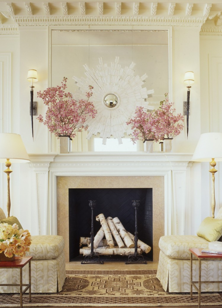 Suzanne Tucker and Chesneys Design Luxury Fireplaces Inspired by