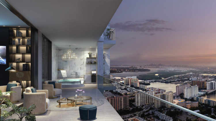 Acqualina Residences Balcony