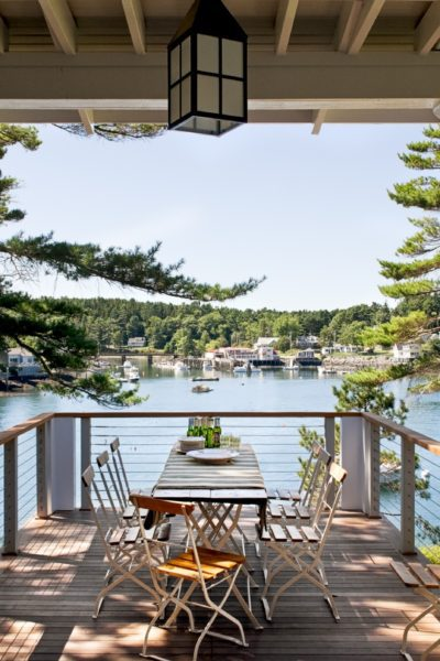 Architectural Inspiration! Pinewold Cottage In Boothbay Harbor, Maine