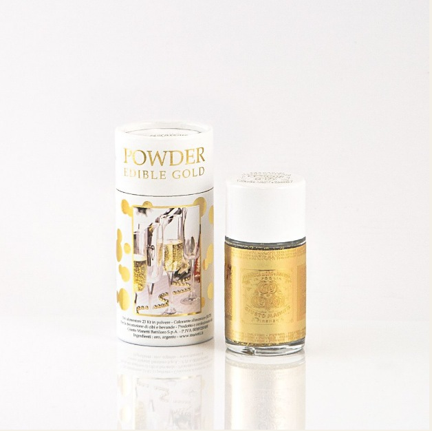 Edible gold powder photo