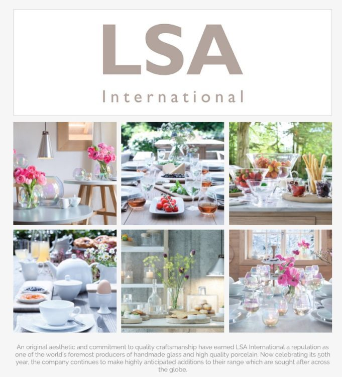 lsa international a sponsor of Amara Living's Interior Blog Awards