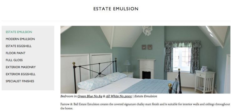 farrow and ball specialty paint finish estate emulsion