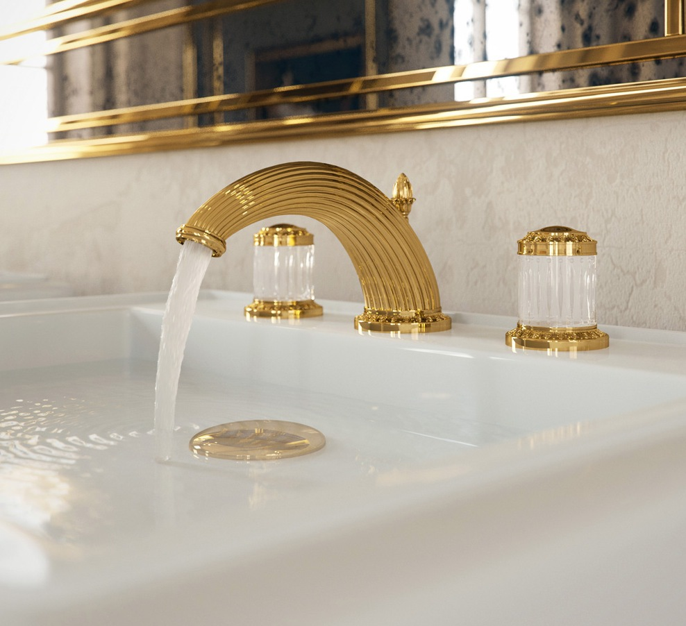 THG Paris Collection Malmaison Luxury Faucet and Sink