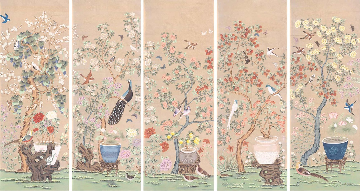 Fromental luxury wallpaper