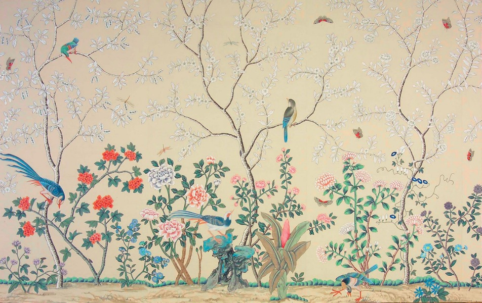 luxury Fromental wallpaper