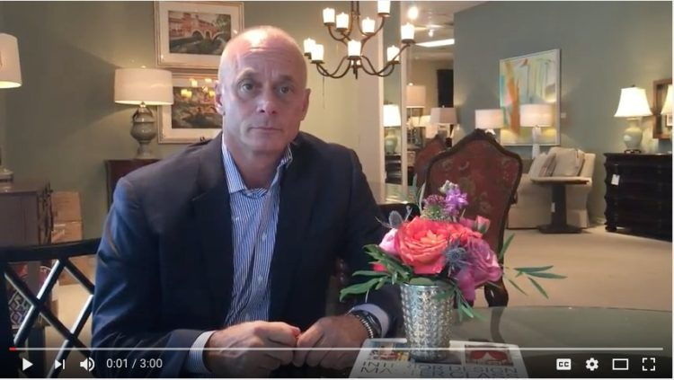 Video of Mr. Carl Dellatore being interviewed by Leslie Carothers about his new book, Interior Design Master Class