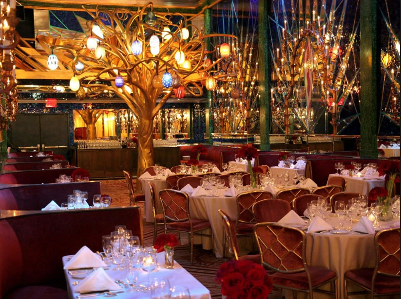 The Russian Tea Room, across the street from Carnegie Hall in New York City
