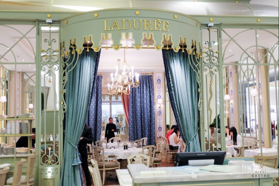 The Laduree tearoom in Bangkok Thailand