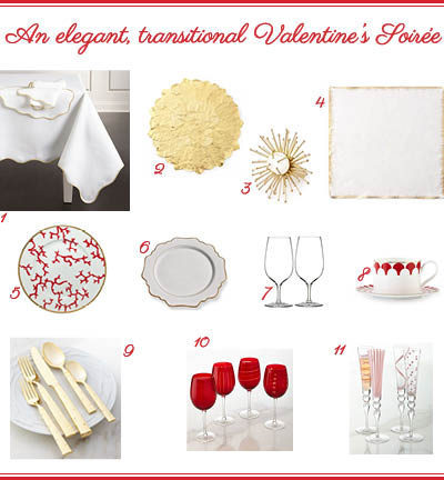 Show Some Love This Valentine's Day With A Romantic Table Setting