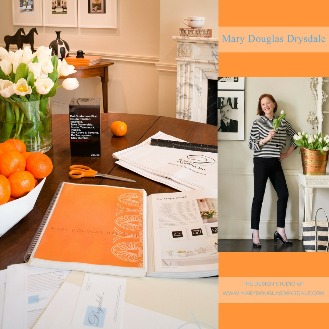Branded presentation materials at Drysdale Design Associates.
