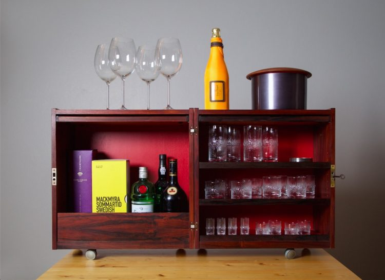Petite Studio Spaces Bar Cabinet