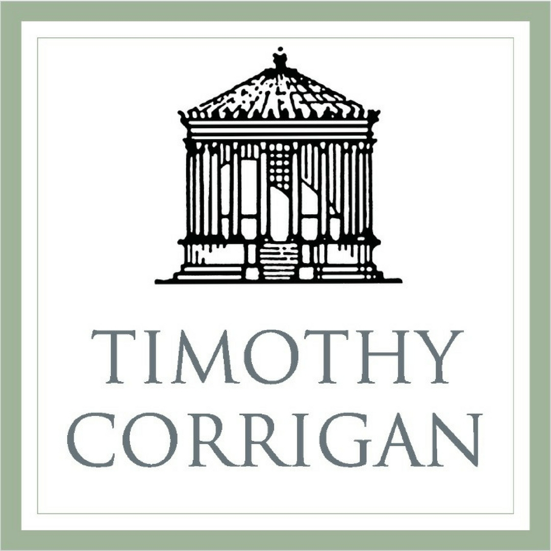 The official logo of Timothy Corrigan.
