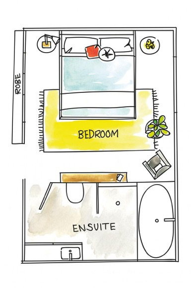 Optimize your Bed for Every Bedroom Size | Hadley Court