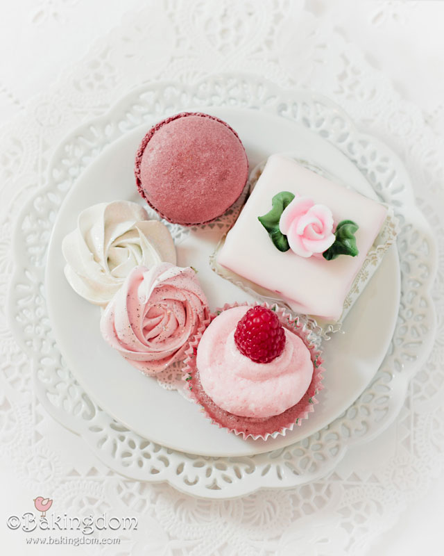 Tea party pastries. Click to see even more elegant tea party ideas in the post!