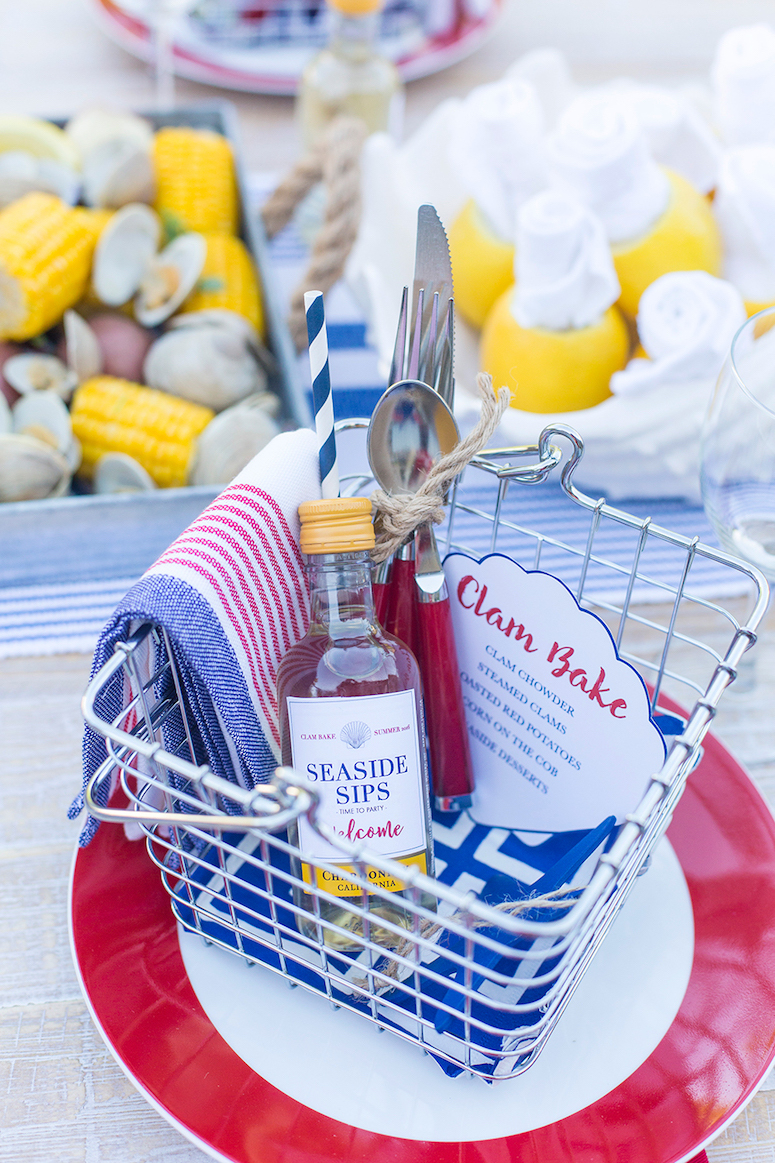 How to host a clam bake/lobster boil party. Click to see all of the tips in the post