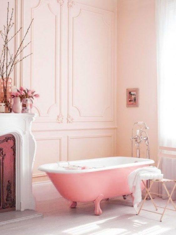 Rose Pink Headboard