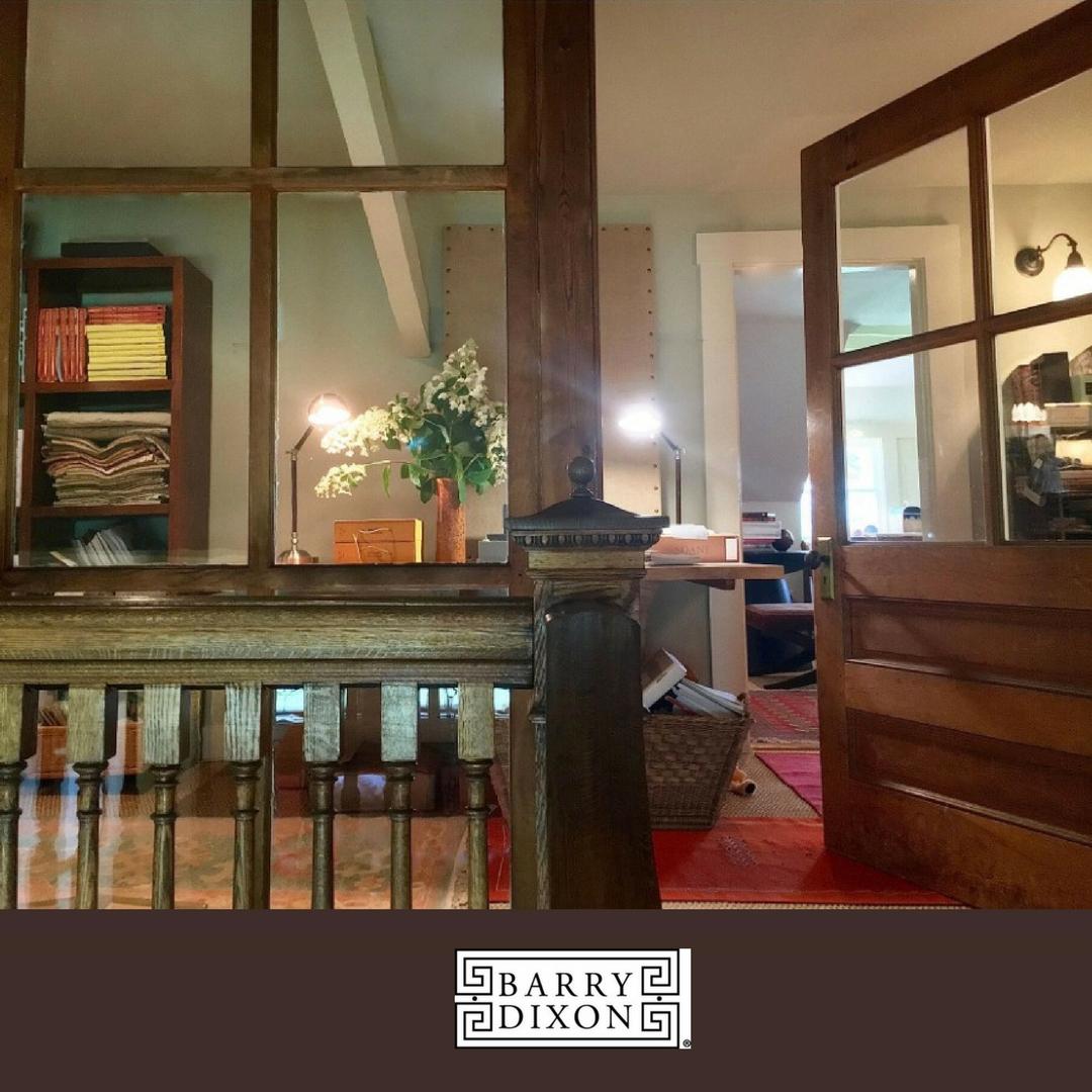 An open door welcomes you into the inspiring design studio of Barry Darr Dixon.