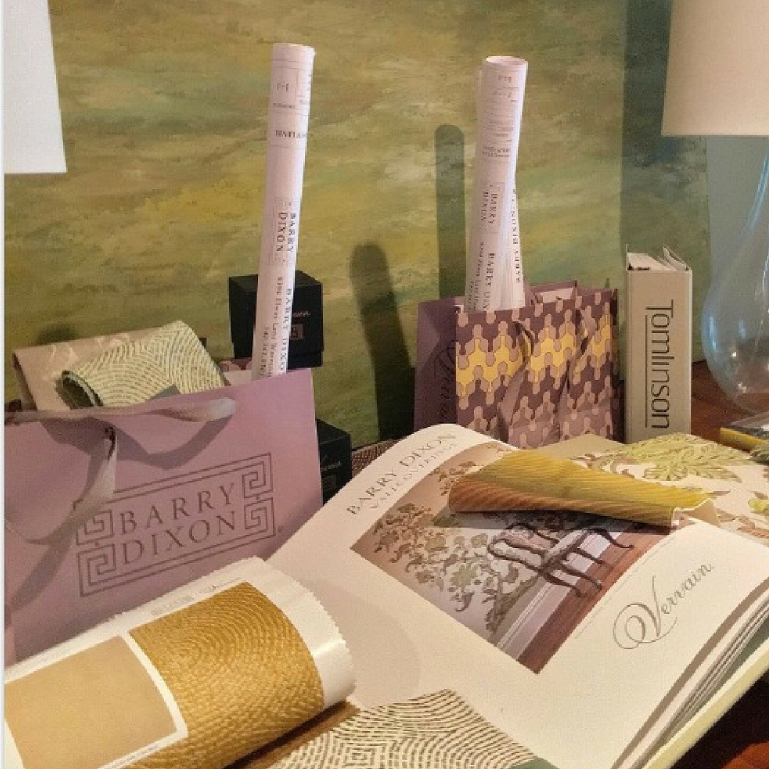 Barry Darr Dixon's branded bags are given to every BDD client.