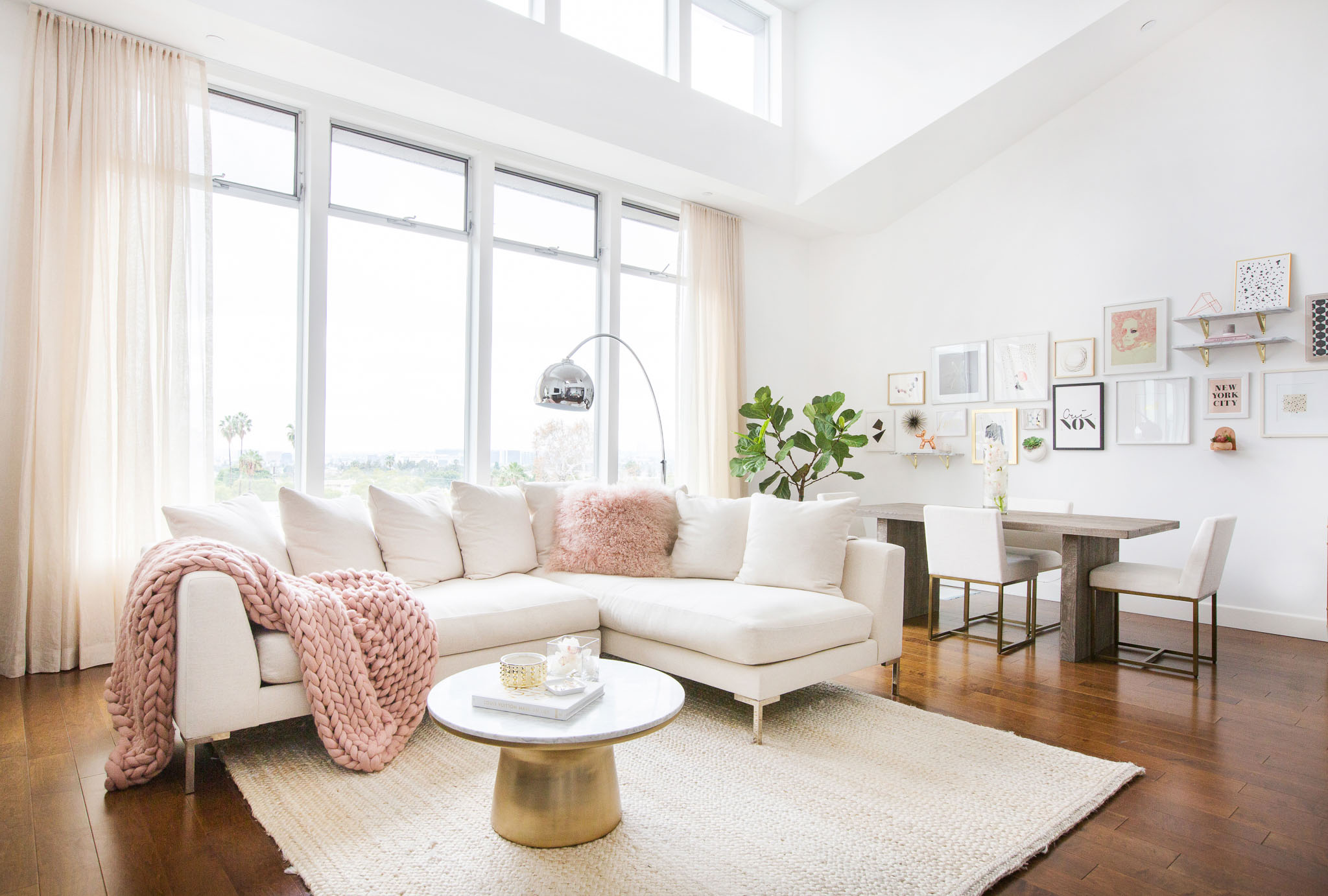 Pink living rooms ideas that are not overbearing - Millennial Pink The Sophisticated Palette Has Returned