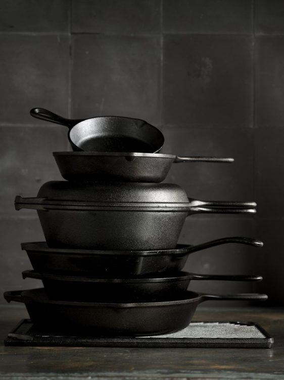 Must-have kitchen tools: a cast iron skillet.