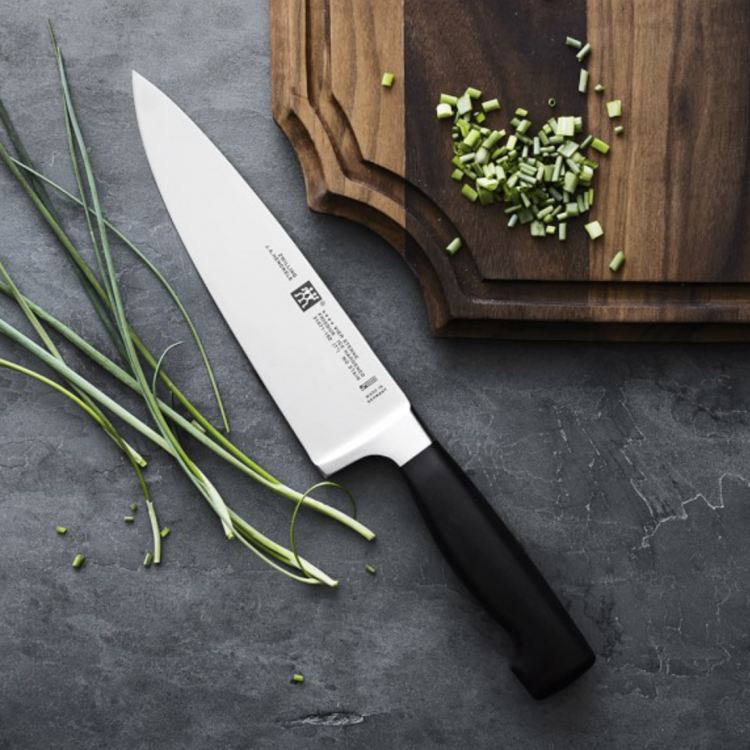 must-have kitchen tools, a great chef's knife.